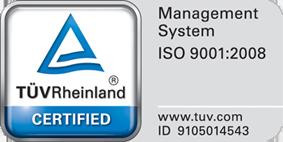 F & S Fernmelde- und Sicherungsanlagenbau GmbH - zertifiziert nach ISO9001:2008